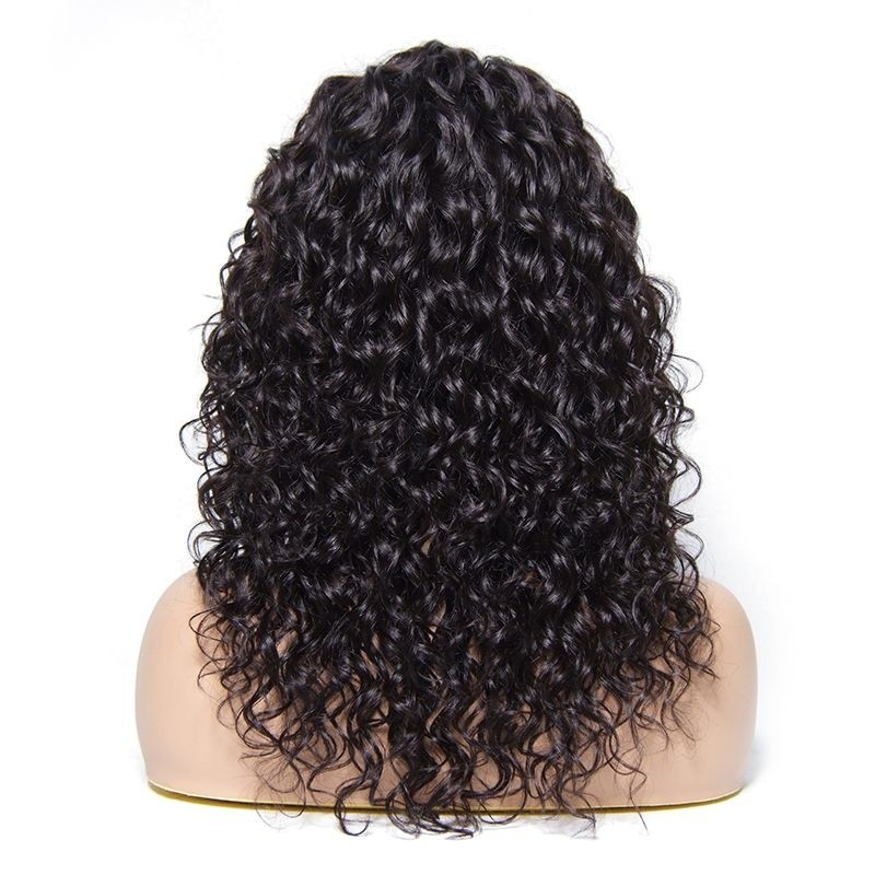 AfricanMall Hand-tide Hair Line Curly Lace Front Wig