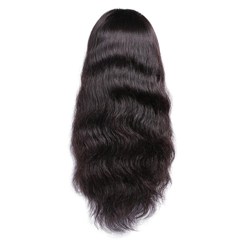 Lace Front 14''-26'' Human Hair Body Wave Wig