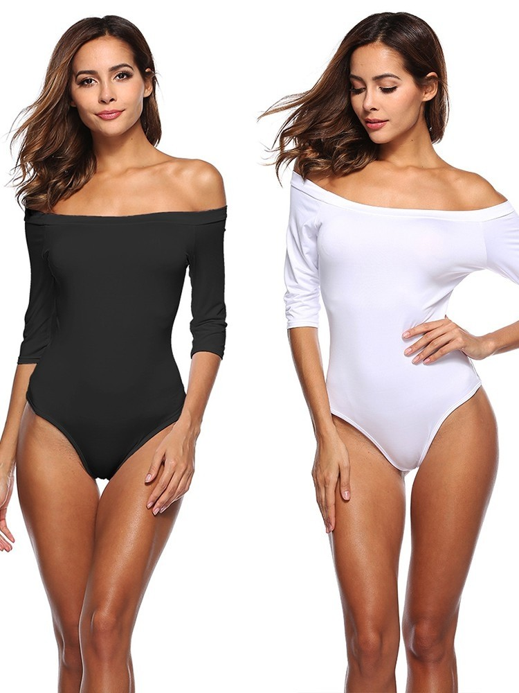 JurllyShe Off Shoulder Bodysuit