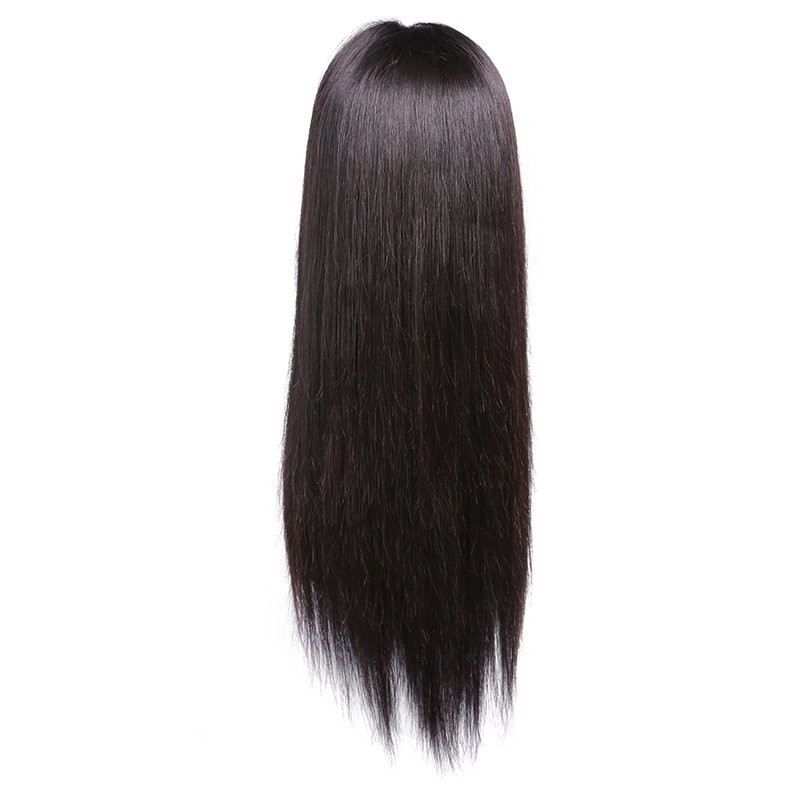 Straight Human Hair Lace Front Wigs