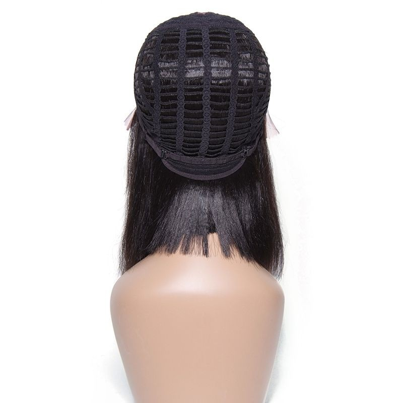 Unice Straight Human Hair Wigs Lace Front Bob Wig