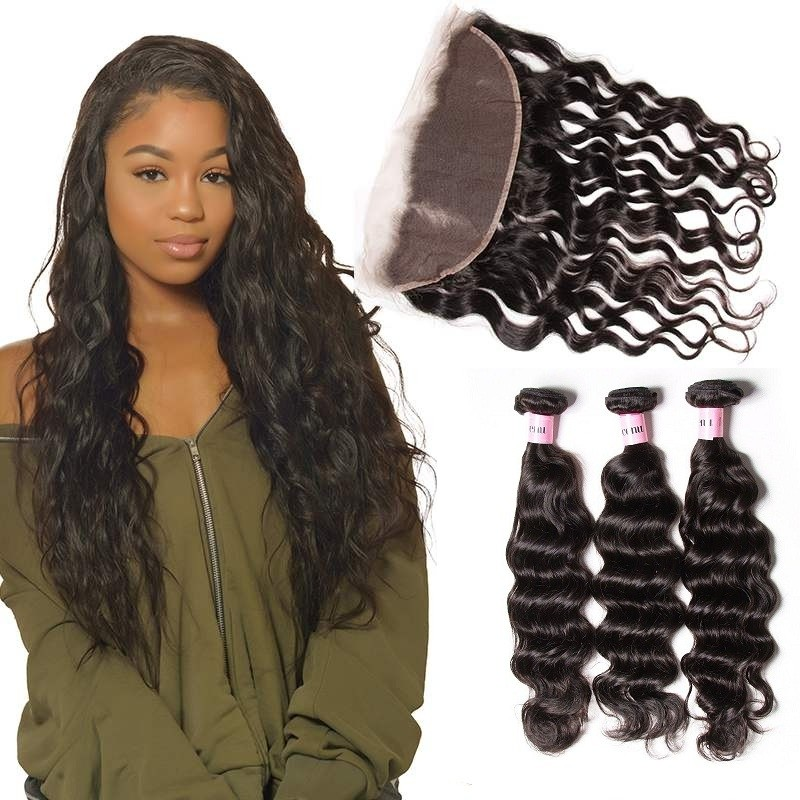UNice Icenu Series Brazilian Ear To Ear Lace Frontal With Natural Wave
