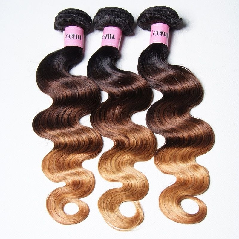 UNice Icenu Series Brazilian Virgin Human Hair Ombre Body Wave