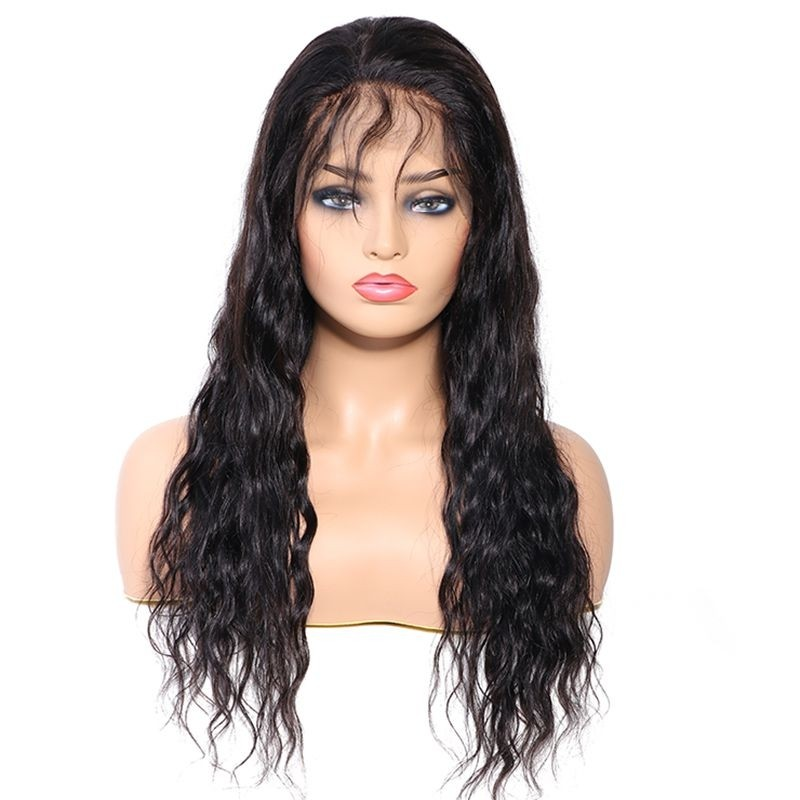 Water Wave Lace Front Human Hair Wig