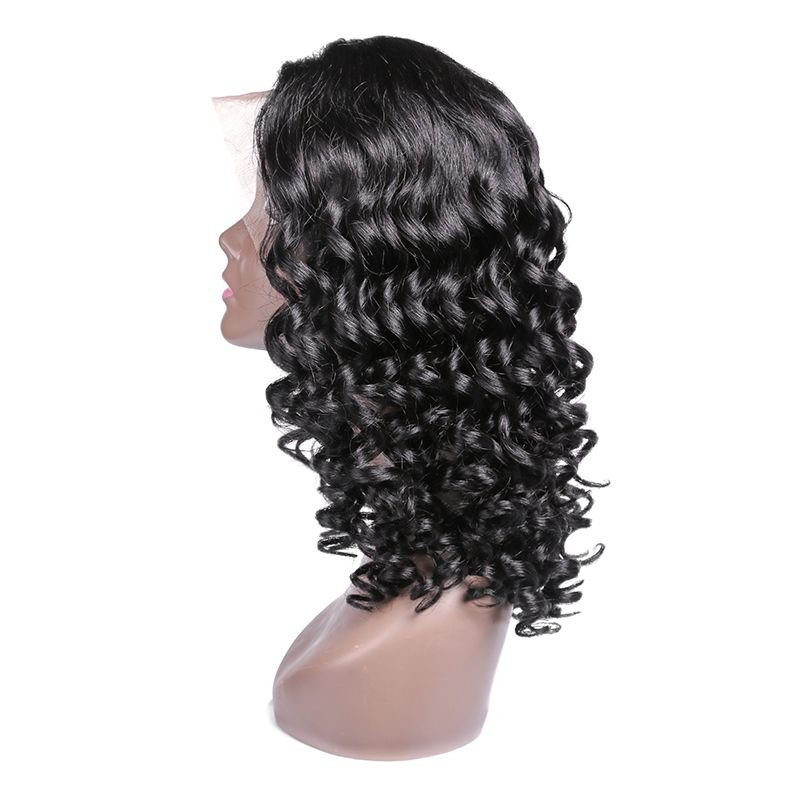 100% Curly Human Hair Lace Front Wigs
