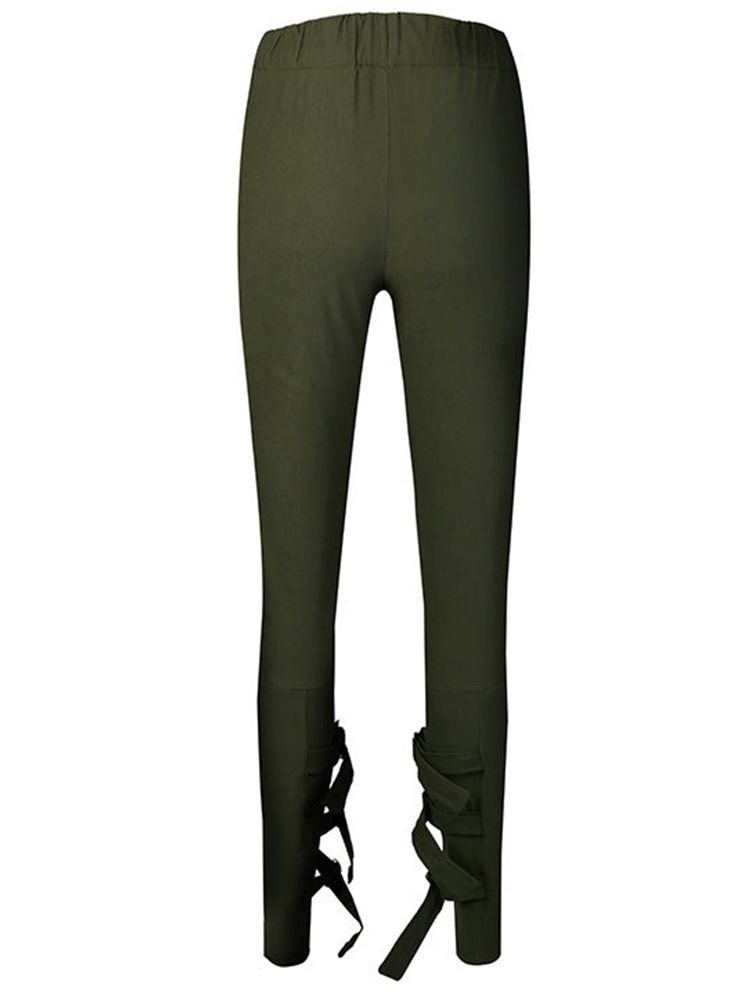 JurllyShe Pocket Solid Tapered Harem Pants