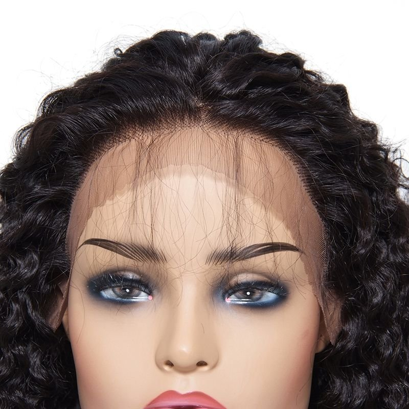 AfricanMall New Arrival Long Curly Wave Lace Front Wig