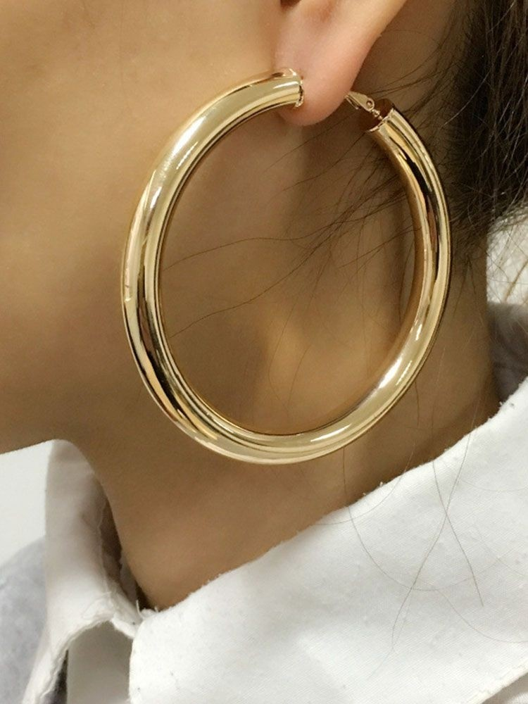 Alloy Circle Earing