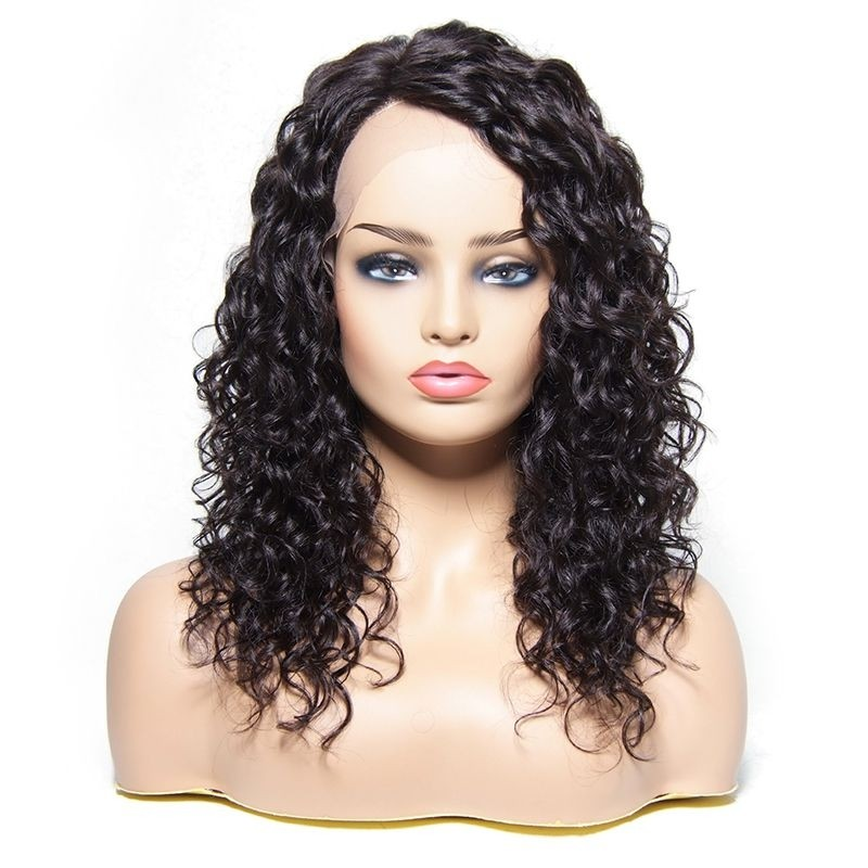 Unice Hand-tide Hair Line Curly Lace Front Wig