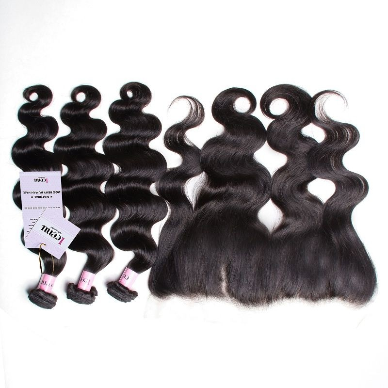 UNice Icenu Series Brazilian Body Wave With Ear To Ear Lace Frontal