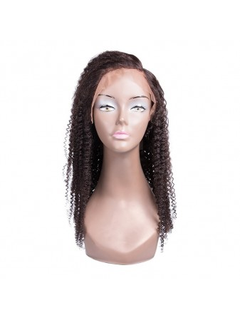 Kinky Curly Wig Human Hair Lace Front Wig