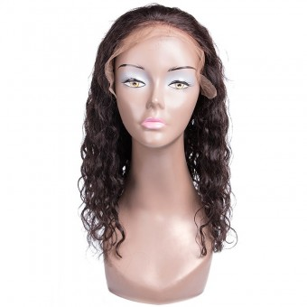 UNice Latest Fabulous Lace Front Wigs 100% Human Hair Water Wave