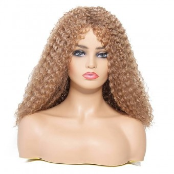 AfricanMall Afro-Curly Hairstyle Synthetic Hair Wig-Color 27