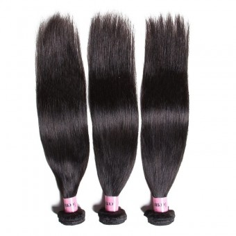 UNice Icenu Series 3 Bundles Brazilian Straight Virgin Human Hair