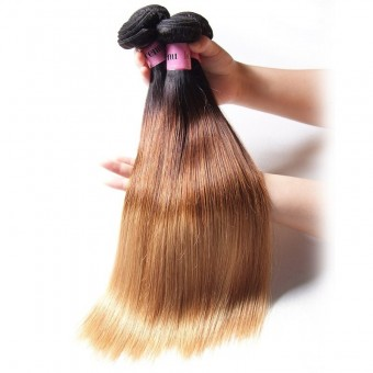 UNice Icenu Series 4 Bundles Brazilian Ombre Straight Human hair