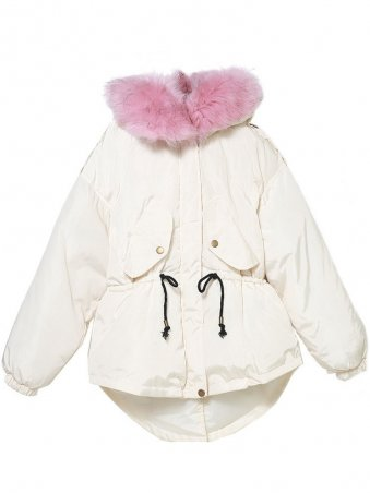 JurllyShe White Warm Down Coat