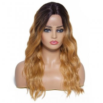 Body Wave Middle Parting Lace Front Synthetic Hair Wig