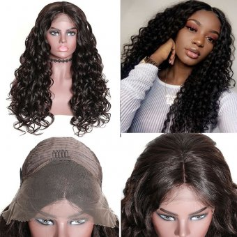 Lace Front Curly Human Hair Wig
