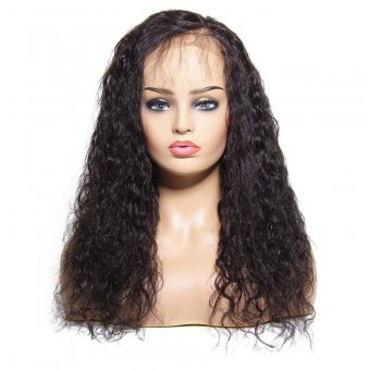 Lace Frontal Water Wave Human Hair Wig