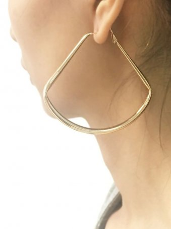 Punk Simple Triangle Design Earing