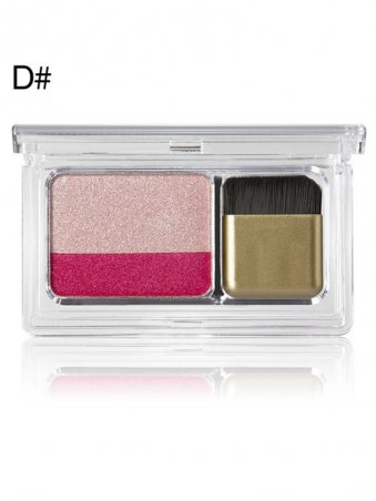 Two Color Gradient Glitter Eyeshadow Palette