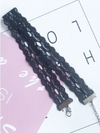 Hollow Lace Sexy Choker Necklace