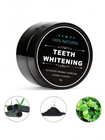 Activated Carbon Teeth Whitening Powder