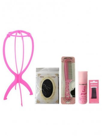 Durable Plastic Wig Holder & Care Tools