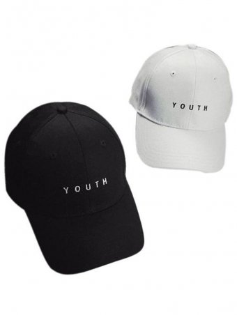 Fashion Personality YOUTH Letter Embroidered Baseball Cap