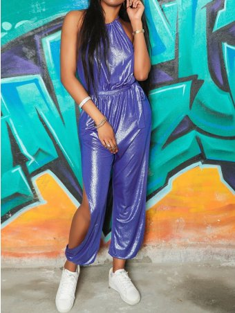 JurllyShe Hot Stamping Hollow Out Sexy Jumpsuits