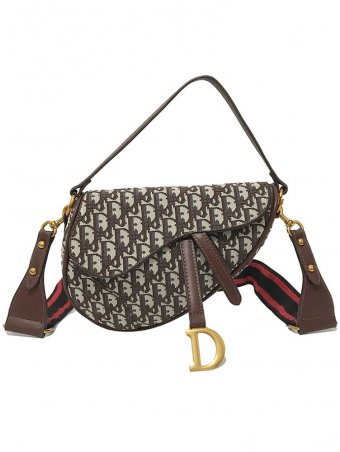 Letter D Design Shoulder Bag