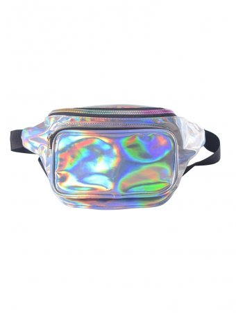 Reflective Fabric Portable Fanny Pack