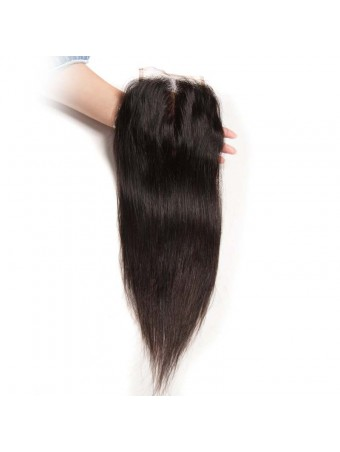 UNice Icenu Series 4*4 Straight Lace Closure Human Hair