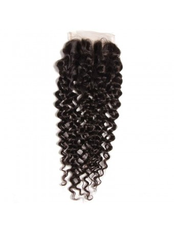 UNice Icenu Series Curly Human Virgin Hair 4*4 Lace Closure