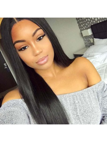 UNice Icenu Series Brazilian Straight Hair With Lace Closure