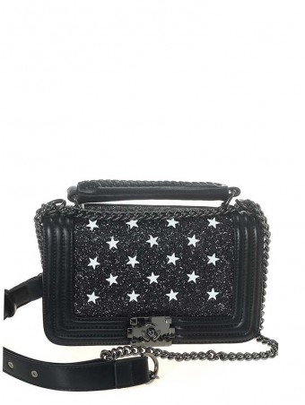 Chanel style Sequins Crossbody Bag