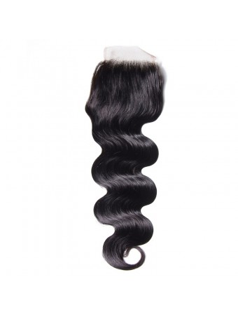 Hurela Icenu Series 100% Virgin Human Hair 4*4 Body Wave Lace Closure