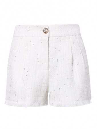 JurllyShe Button Front Casual Shorts