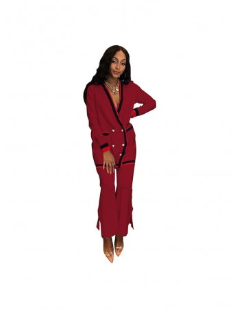 JurllyShe Button Up Cardigan With Wide Leg Palazzo Pants Two Piece Sets