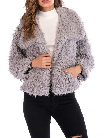 JurllyShe Plush Warmth Short Coat