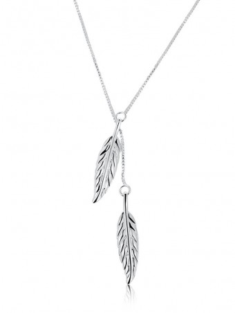 Leaf Lariats Chain Necklace