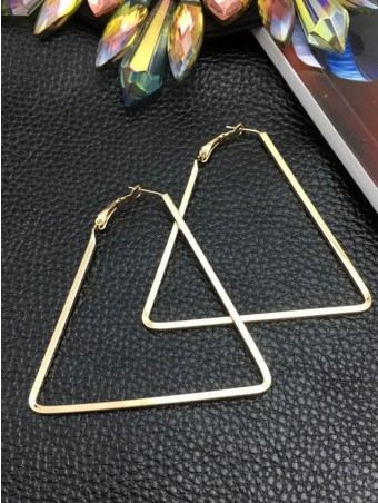 Simpls Triangle Design Earing