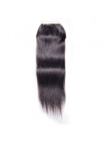 Hurela Series 4*4 Straight Closure 100% Virgin Human Hair Lace Closure