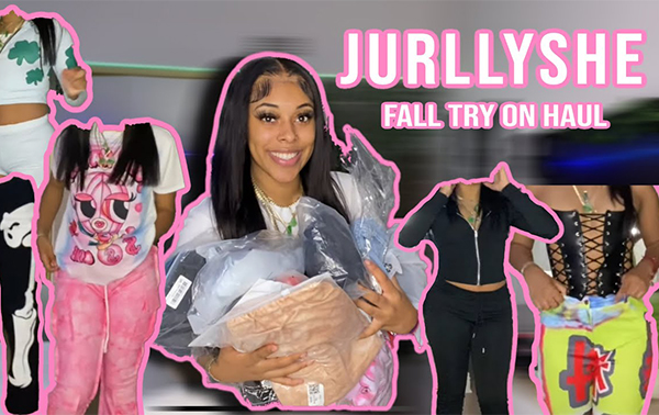 HUGE FALL JURLLYSHE TRY ON HAUL! SWEATS, 2 PIECE SETS, GRAPHIC TEES, JUMPSUITS +MORE | Golden.toned
