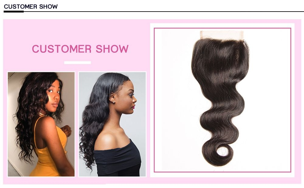 human hair with closure,top closure hair extensions,lace closure images,hair body wave