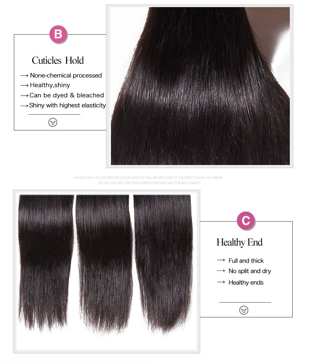 straight hair with frontal closure,free part straight frontal closure