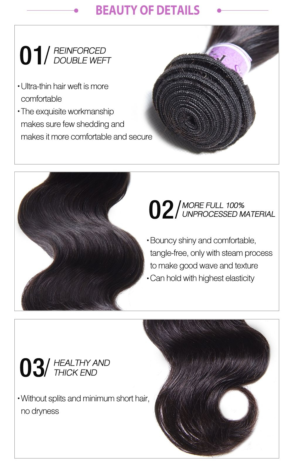 long lasting UNice human hair in africanmall