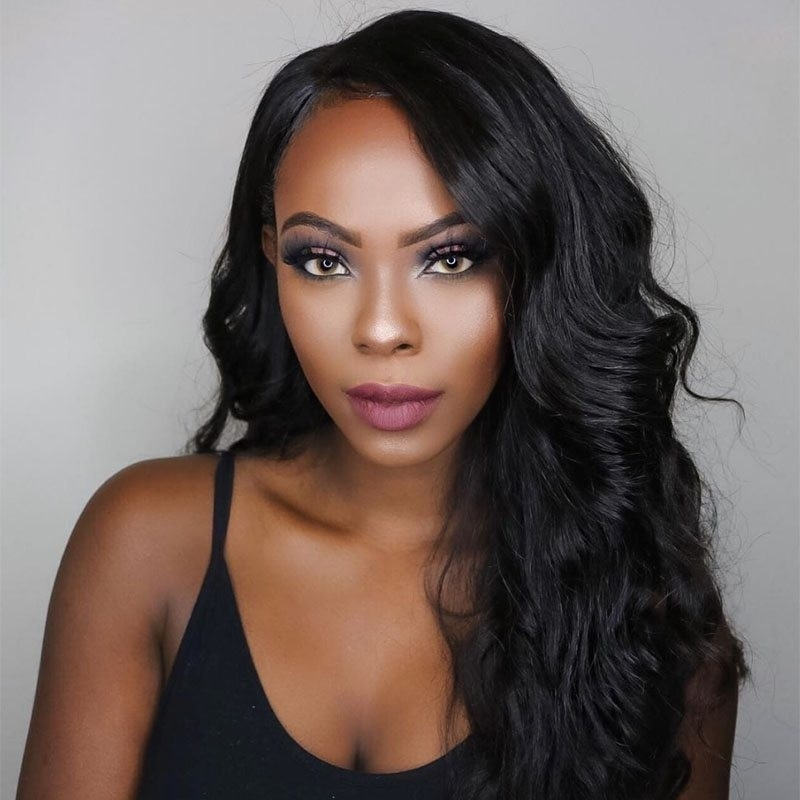 AfricanMall 4 Bundles Body Wave Virgin Human Hair Extension