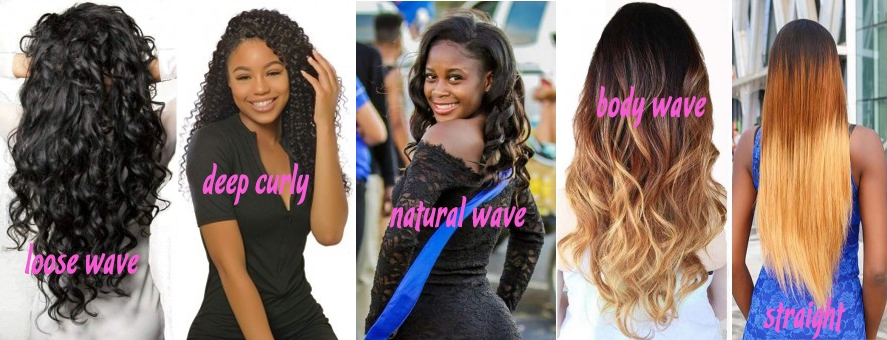 body curly straight loose natural wave hair in africanmall