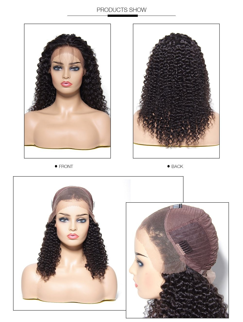 UNice New Arrival Long Curly Wave Lace Front Wig